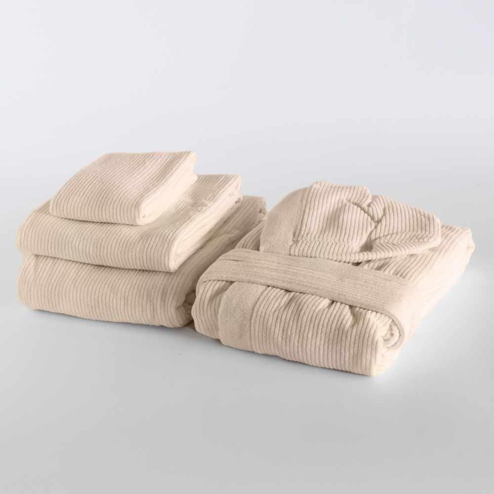 set serviettes peignoir SPA à la maison DONDI SKIPPER
