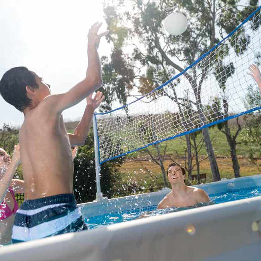 Piscine Hors-Sol Intex Frame Volley-Ball