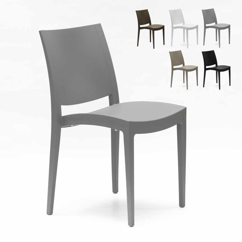 Chaise polypropylène pour salle à manger et café Grand Soleil Trieste