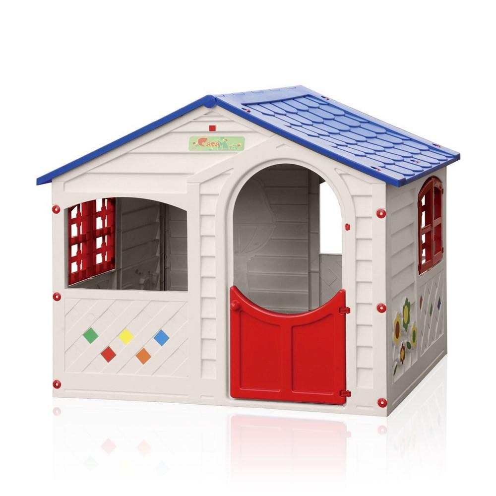 Maisonnettes En Plastique Pour Enfants Jardin Extérieurs Grand Soleil Casa Mia