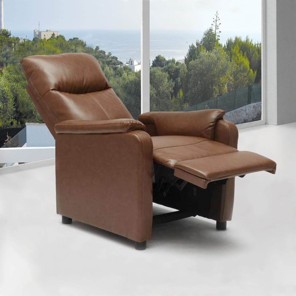 Fauteuil-relax-inclinable-avec-repose-pieds-en-similcuir-GIULIA miniature 38