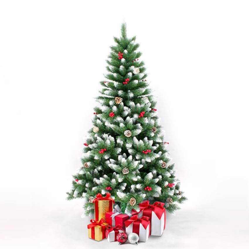 Sapin De Noel Artificiel DéCoré BERGEN: Sapin de Noël artificiel 180cm avec décorations