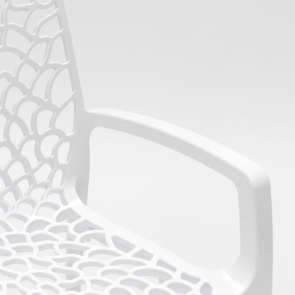 miniature 16 - Chaise en polypropylène accoudoirs jardin café Grand Soleil Gruvyer Arm