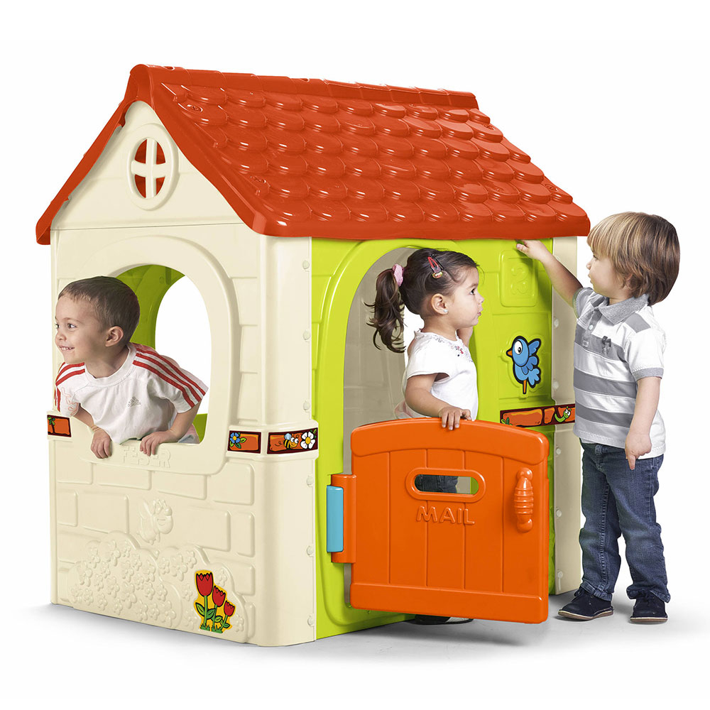 Maisonnette De Jardin En Plastique Pour Enfants Fantasy House Feber