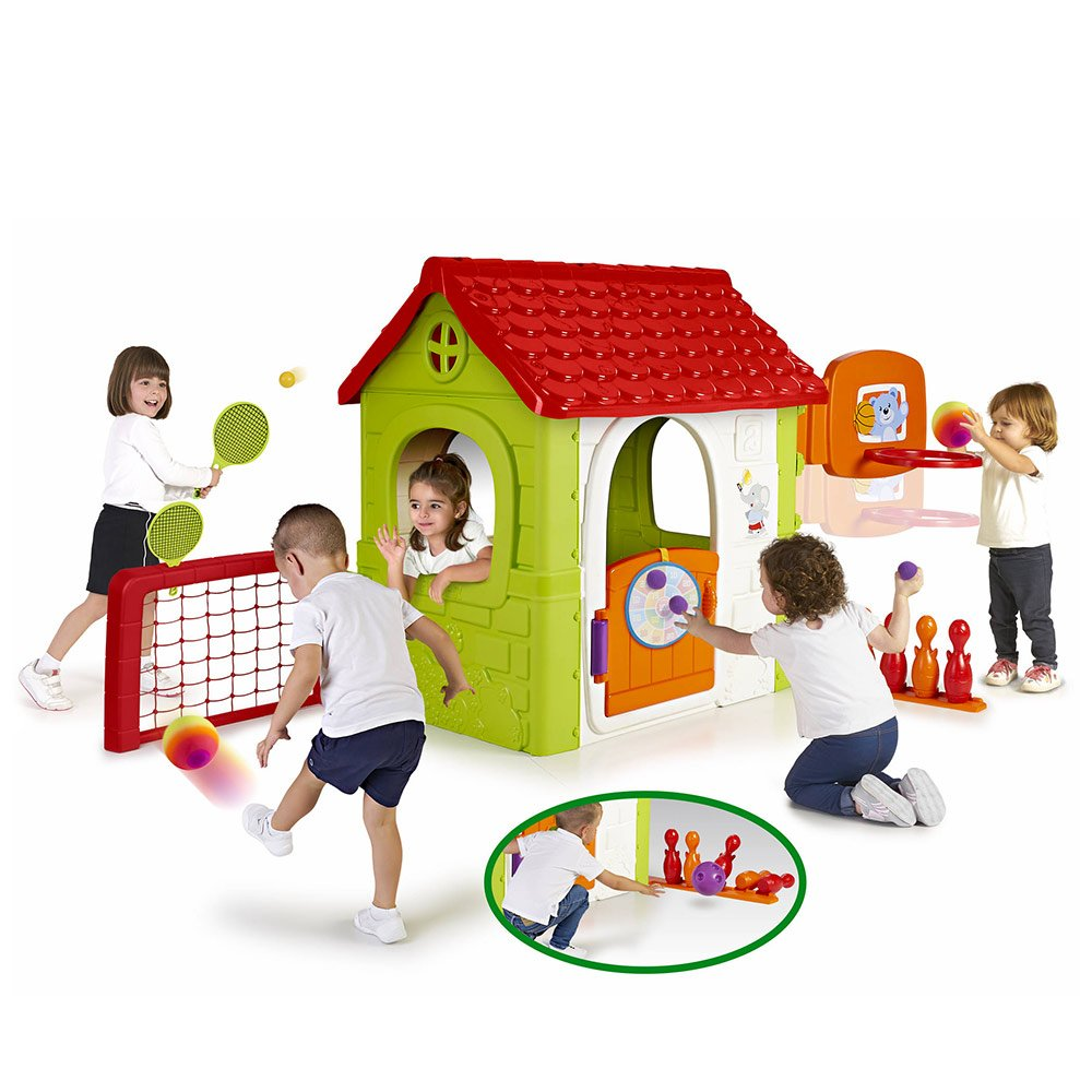 Maisonnette de jardin pour enfants MULTI-ACTIViTÉS de Feber