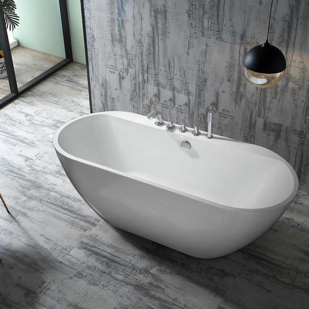 baignoire ilot ovale ilot independant design kalimnos