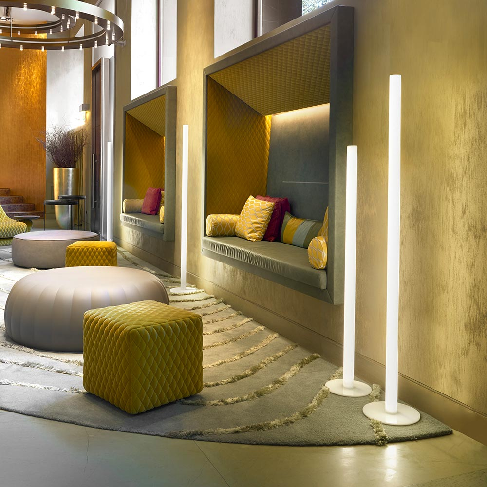 Lampadaire Design Slide Flux Éclairage Led