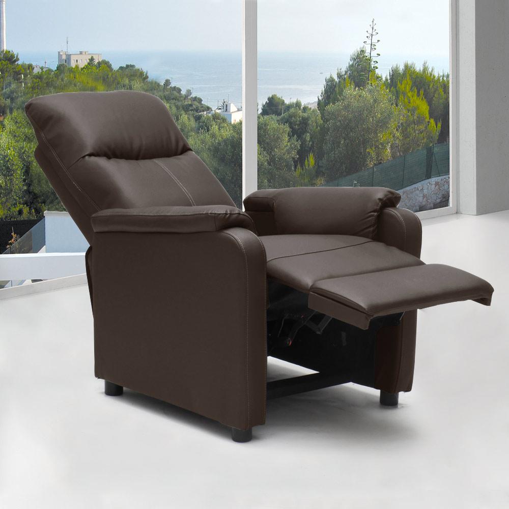 Fauteuil-relax-inclinable-avec-repose-pieds-en-similcuir-GIULIA miniature 46