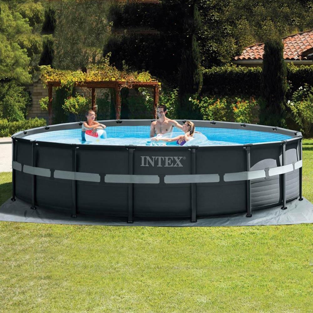 meilleures piscines hors-sol INTEX ULTRA FRAME XTR