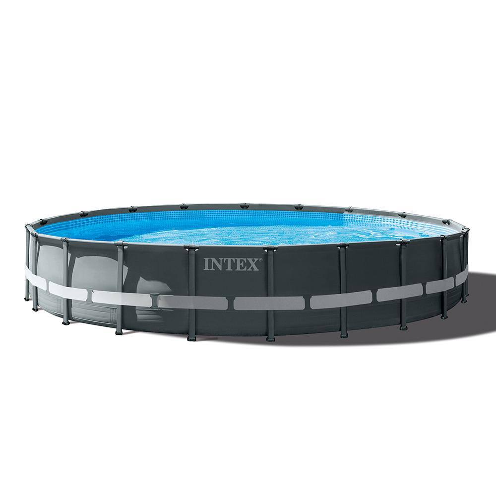 Intex 10 : Piscine ronde hors sol 10x10 Ultra Xtr Frame en promotion