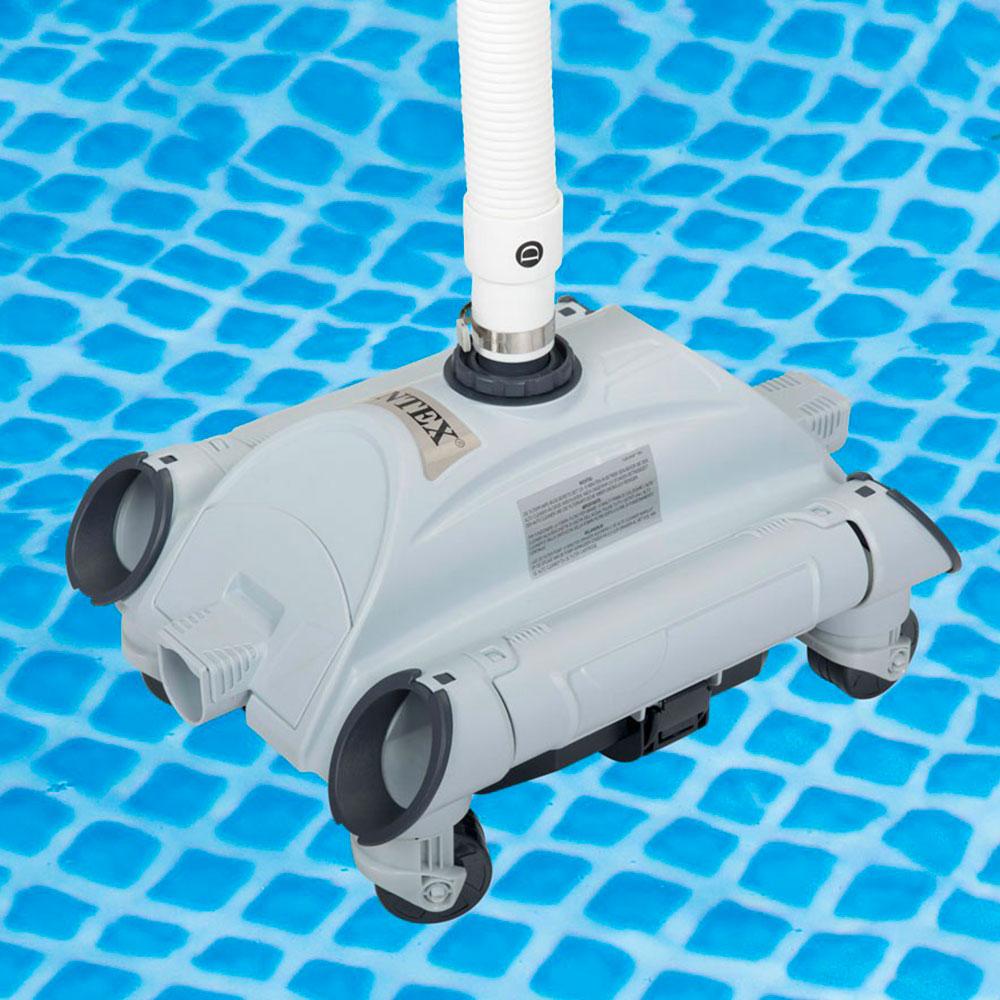 Intex 9 Robot nettoyeur de piscine aspirateur fond universel