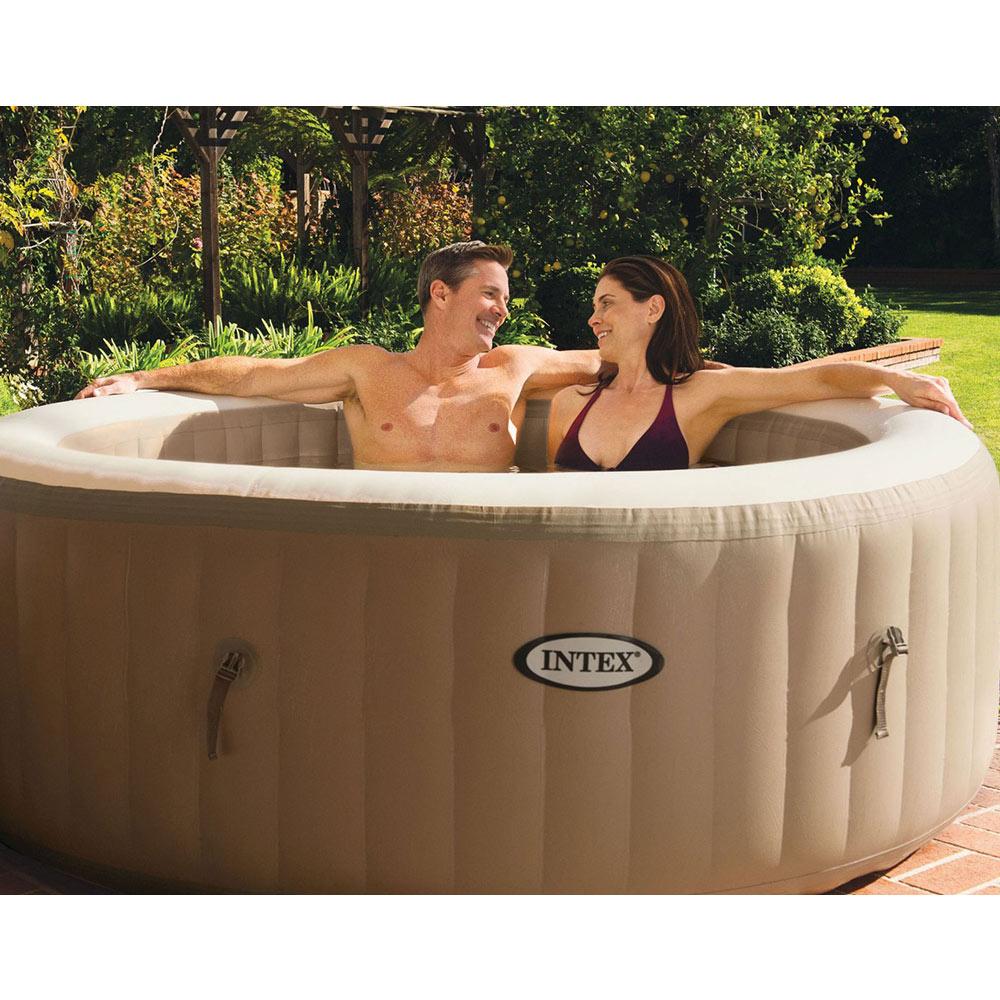 spa à la maison hydromassage INTEX 28408