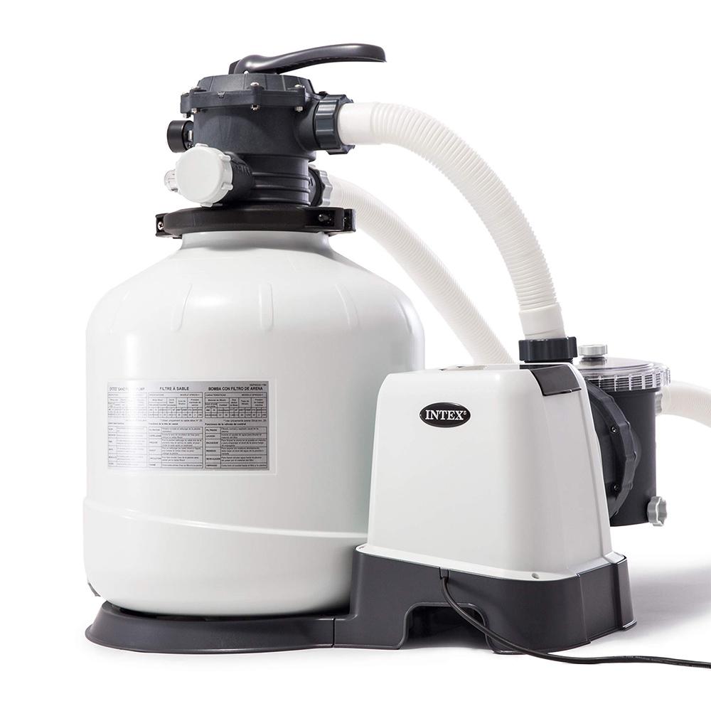 Intex 10 filtre à sable epurateur purificateur piscine hors-sol 10  lt/hr