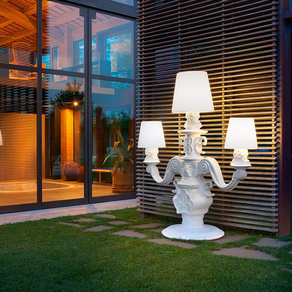 Lampadaire Candélabre Design Moderne Slide King Of Love éclairage intérieur