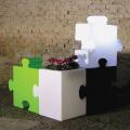 Lampadaire modulable de design contemporain et moderne Slide Puzzle Corner