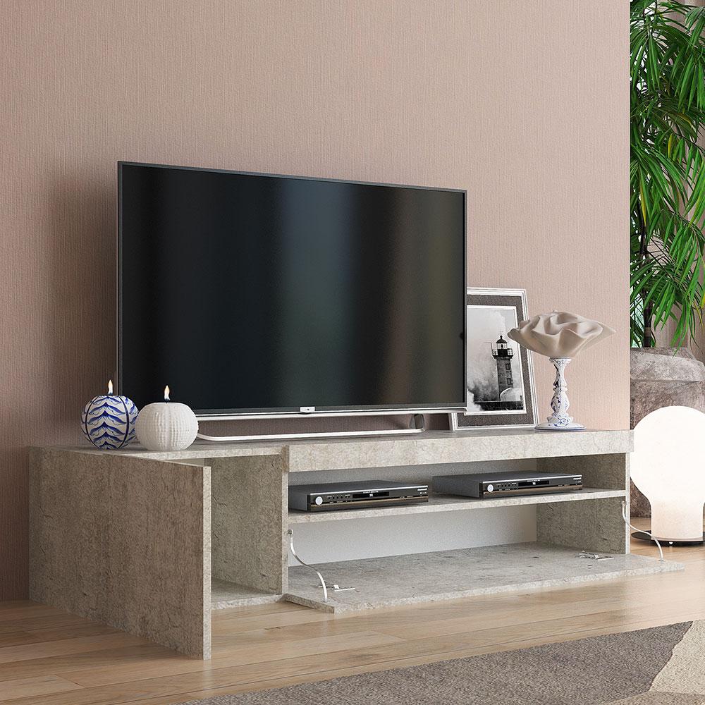 Meuble TV Moderne Daiquiri Concrete