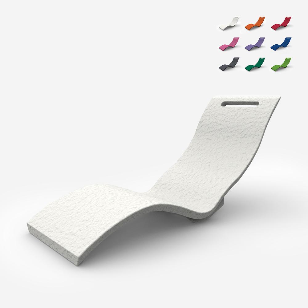 Chaise longue de jardin spa ergonomique Arkema Design Serendipity S010