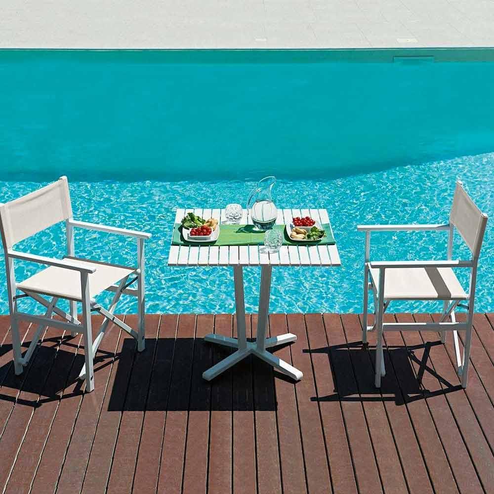 Chaise Pour Jardin Sea Beach Aluminium Textilène Regista Light