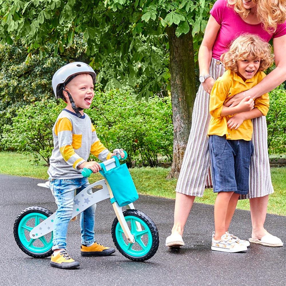 draisiennes bvélo en bois deux roues pour enfants balance ride