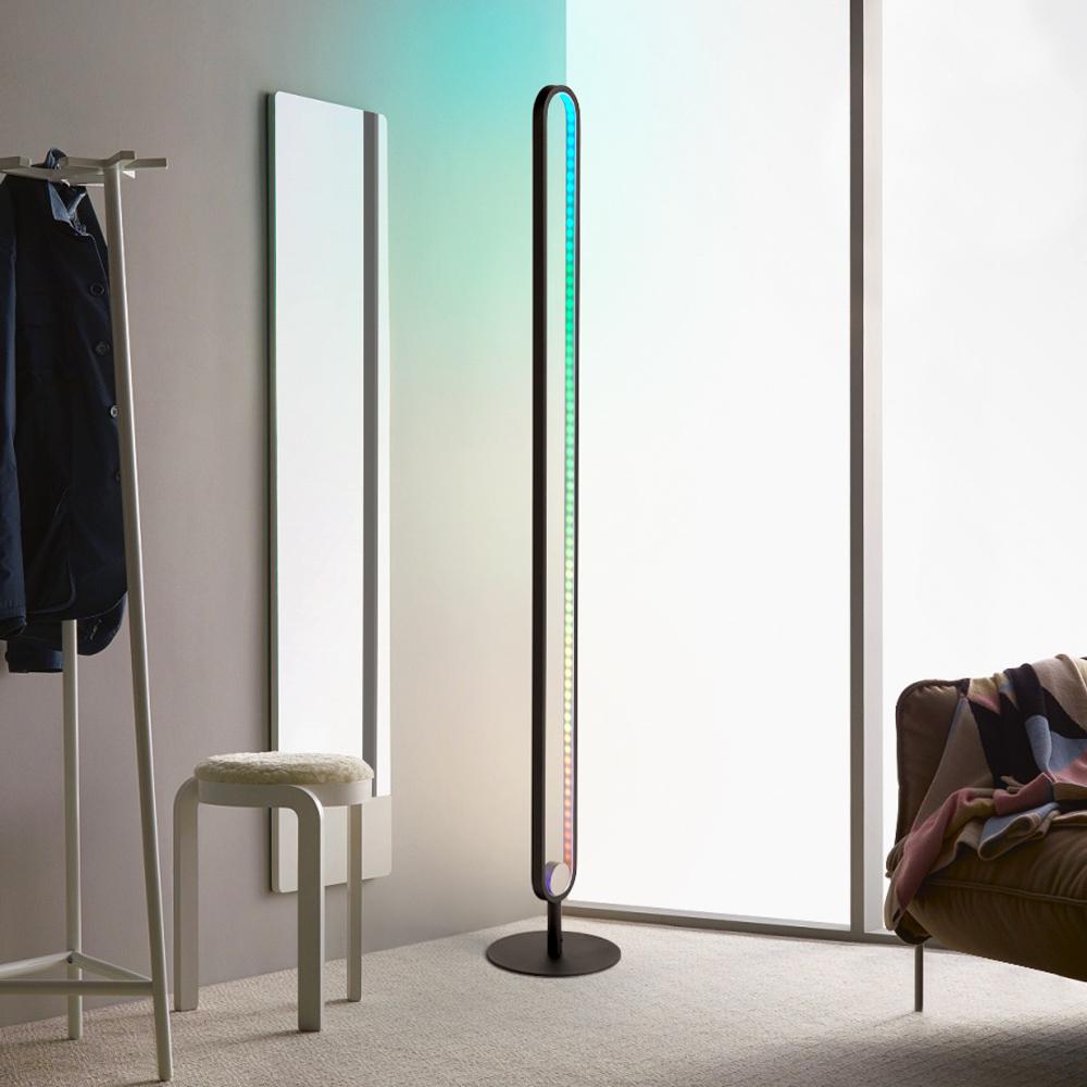 Lampadaire LED lampe moderne avec télécommande RGB Markab