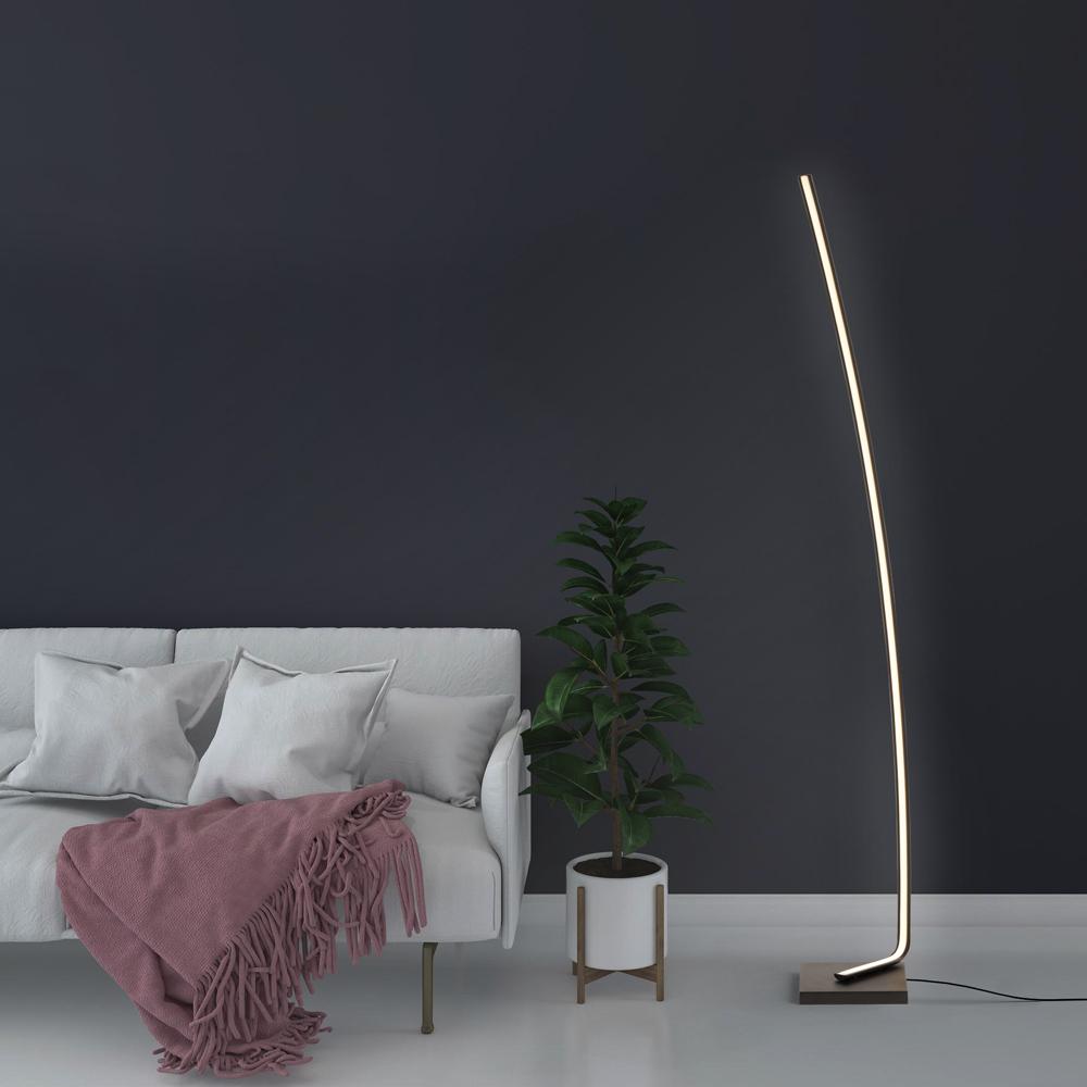 Lampadaire de sol LED Lampe de Salon au Design Moderne et élégant Deneb