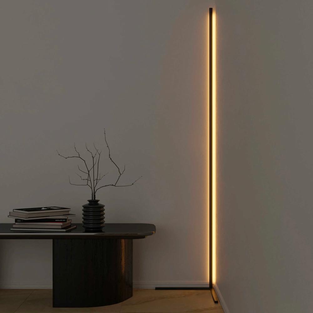 Lampadaire incliné LED design minimaliste moderne Vega