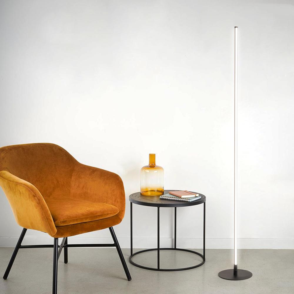 Lampadaire LED sur pied au design moderne élégant et minimaliste Algol