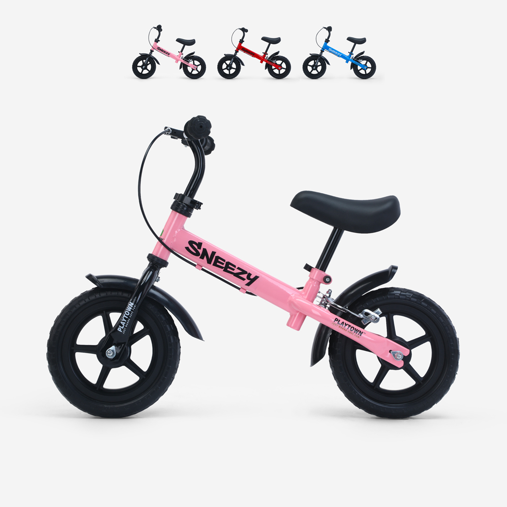 Draisienne vélo pour enfants sans pédales avec frein Sneezy
