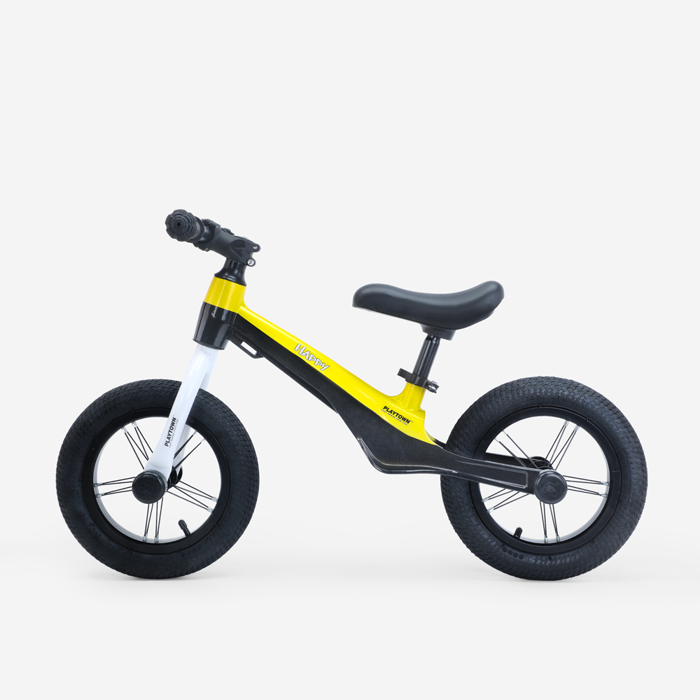 Draisienne pour enfants roues gonflables et design dynamique Happy