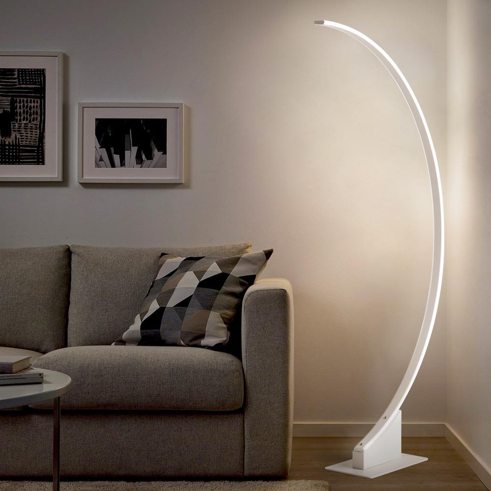 Mobilier de bureau pour télétravail : Lampe De Sol Arquée Aldebaran