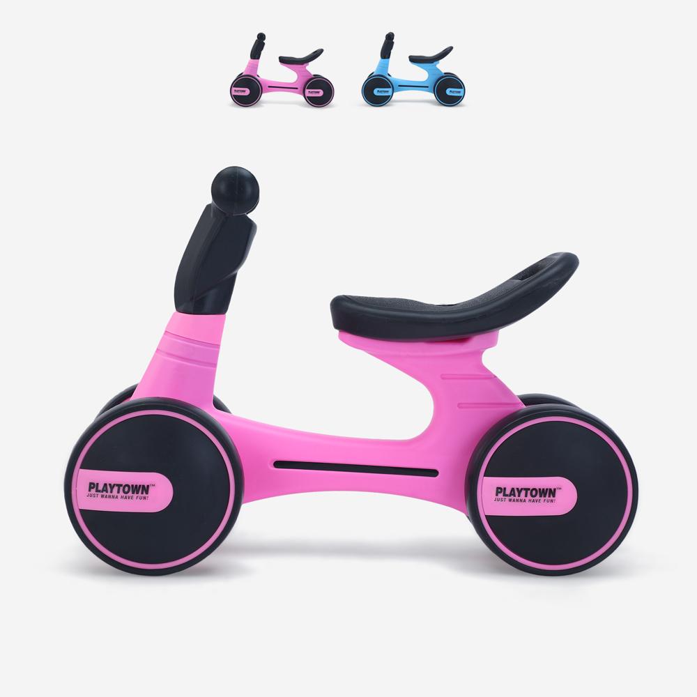 Vélo enfant First Balance Bike draisienne sans pédales Dopey