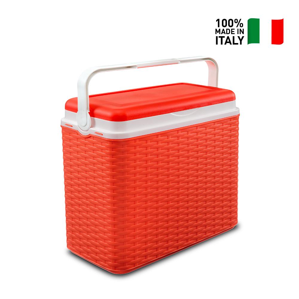 Glacière Thermique Rigide Portable 24 Litres Rotin Adriatic Midollino