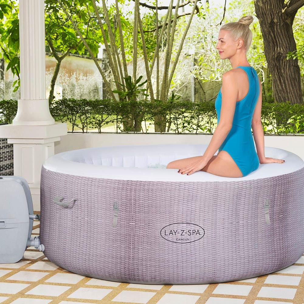 spa à la maison hydromassage BESTWAY CANCUN
