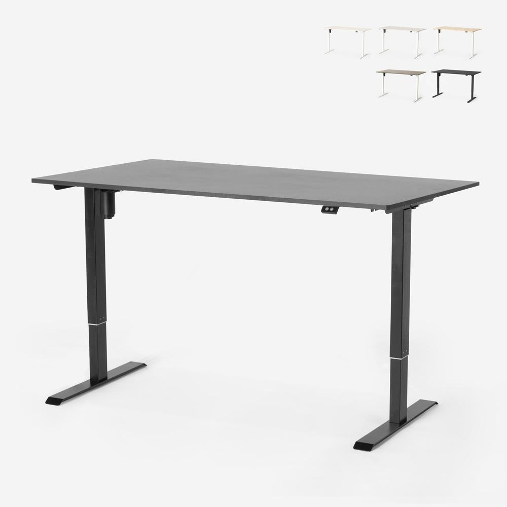 Bureau électrique réglable en hauteur pour bureau et studio de design Standwalk 160x80
