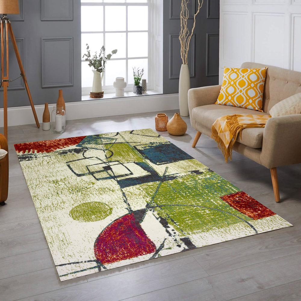 tappeto design moderne Milano color