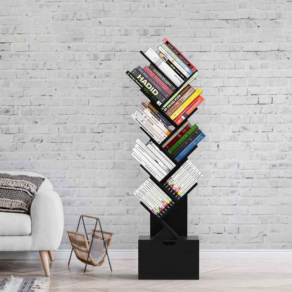 Mobilier de bureau pour télétravail : Bibliothèque Design Moderne Treebook 150