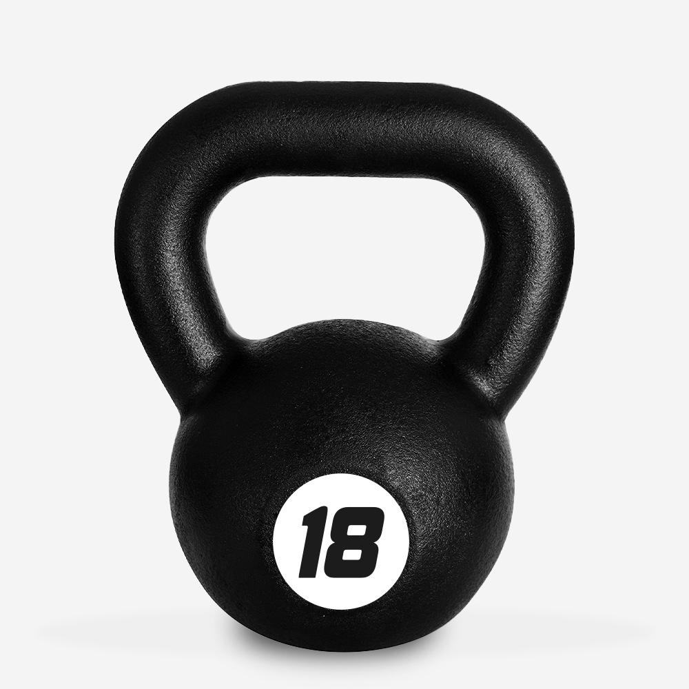 Kettlebell en fer poids 18 kg poignée boule pour salle de fitness Kotaro