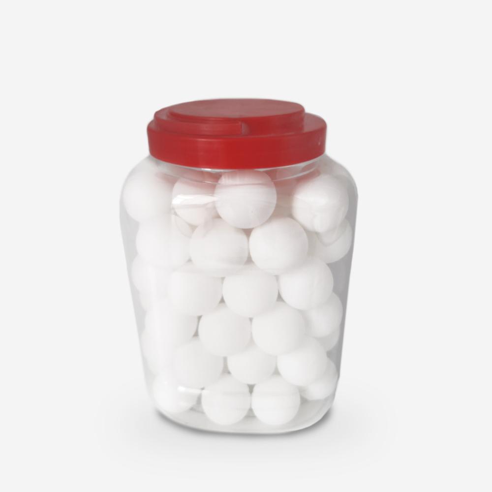 60 balles de ping-pong blanche professionnelles de diamètre 40mm Koule