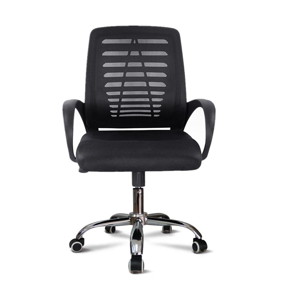 Chaise de bureau ergonomique pivotante recouverte de tissu respirant Opus