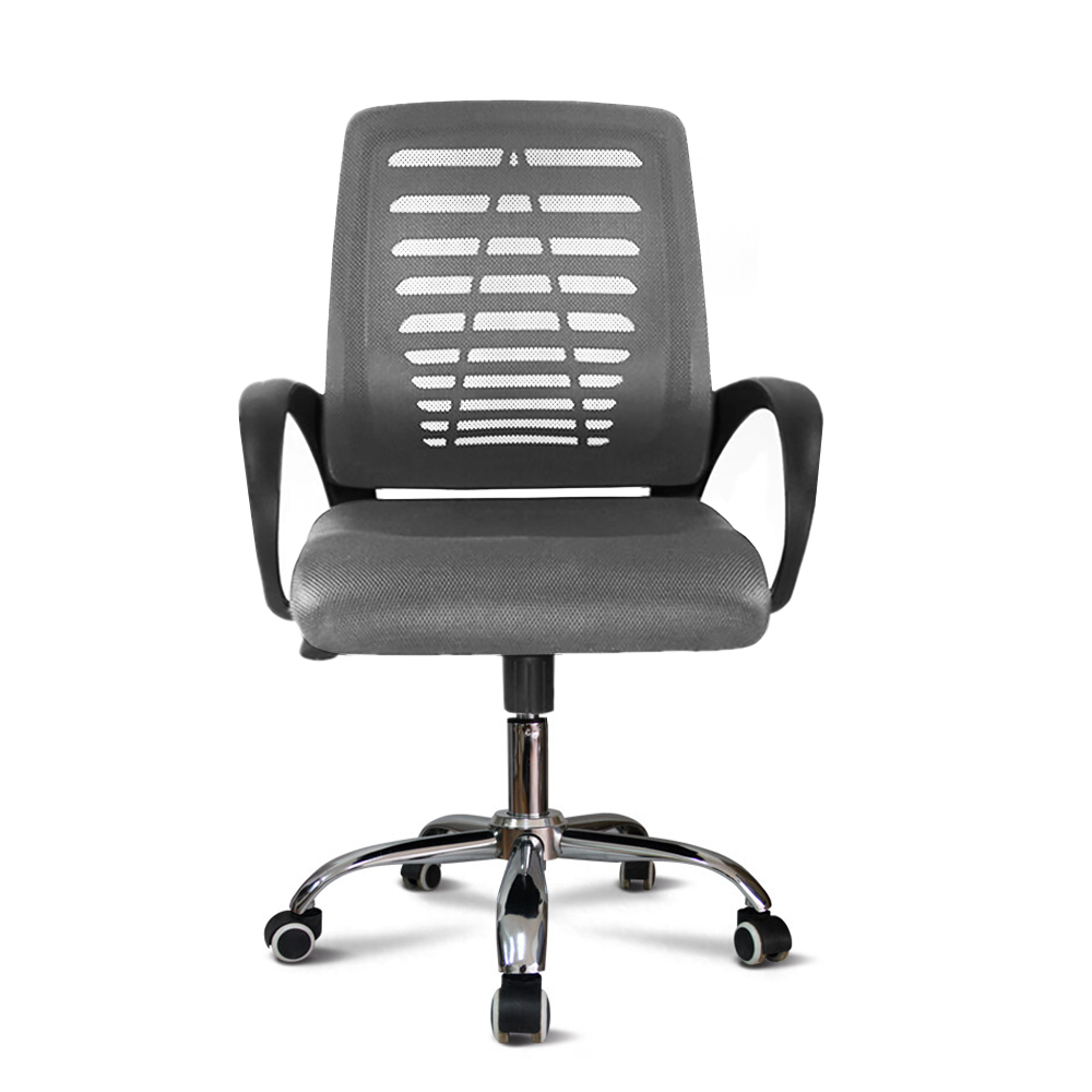 Chaise de bureau ergonomique pivotante avec tissu respirant Opus Moon