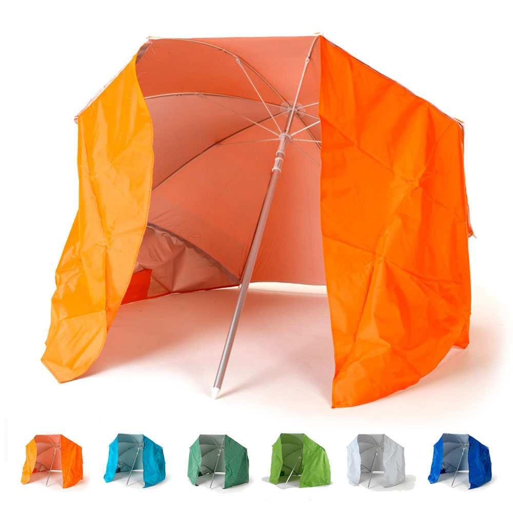 Parasol de plage portable moto pliable léger aluminium tente 200 cm Piuma