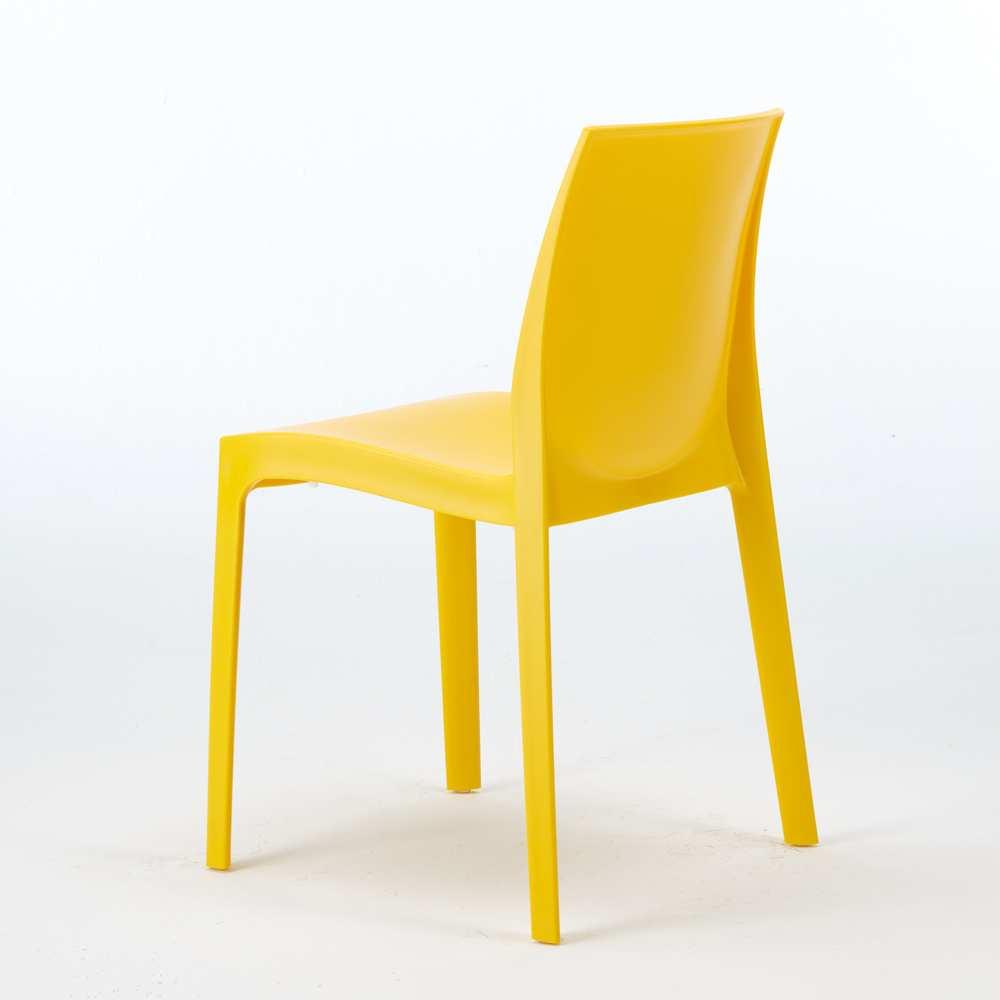 miniature 33 - Chaise en polypropylène empilable Salle à Manger café bar Rome Grand Soleil