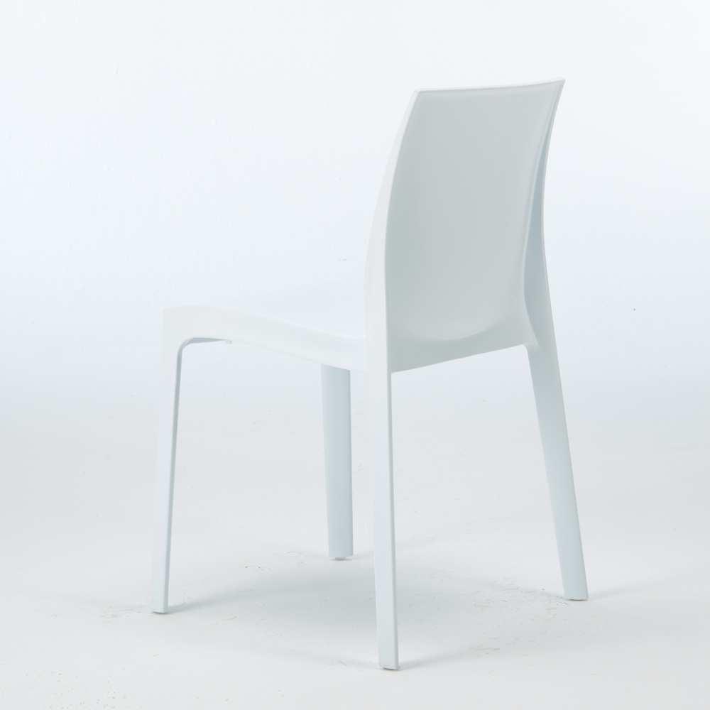 miniature 45 - Chaise en polypropylène empilable Salle à Manger café bar Rome Grand Soleil