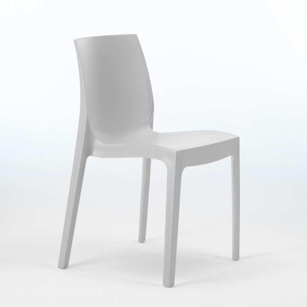 miniature 14 - Chaise en polypropylène empilable Salle à Manger café bar Rome Grand Soleil