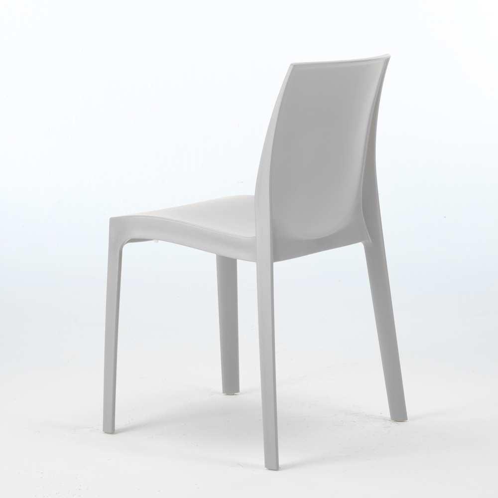 miniature 15 - Chaise en polypropylène empilable Salle à Manger café bar Rome Grand Soleil