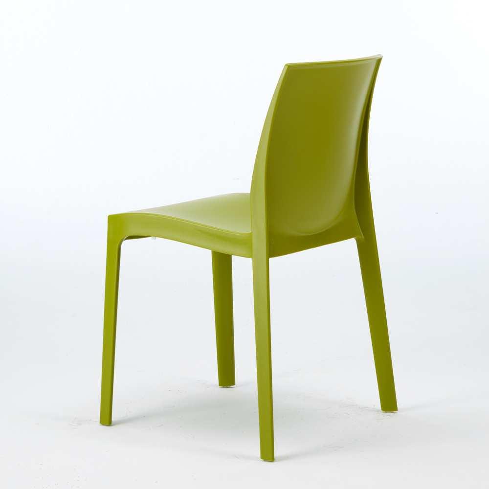 miniature 39 - Chaise en polypropylène empilable Salle à Manger café bar Rome Grand Soleil