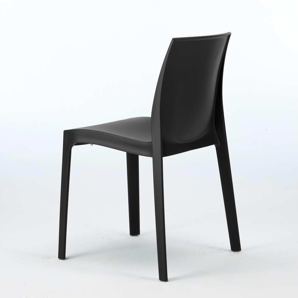 miniature 51 - Chaise en polypropylène empilable Salle à Manger café bar Rome Grand Soleil