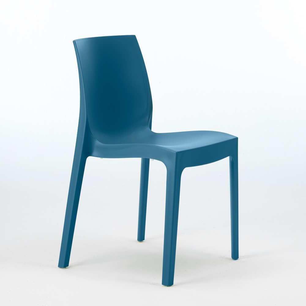 miniature 26 - Chaise en polypropylène empilable Salle à Manger café bar Rome Grand Soleil