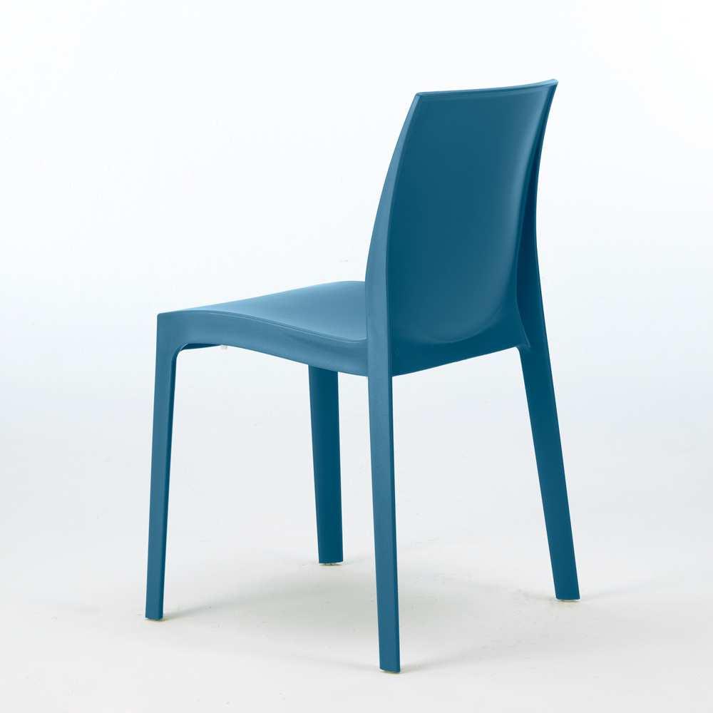 miniature 27 - Chaise en polypropylène empilable Salle à Manger café bar Rome Grand Soleil