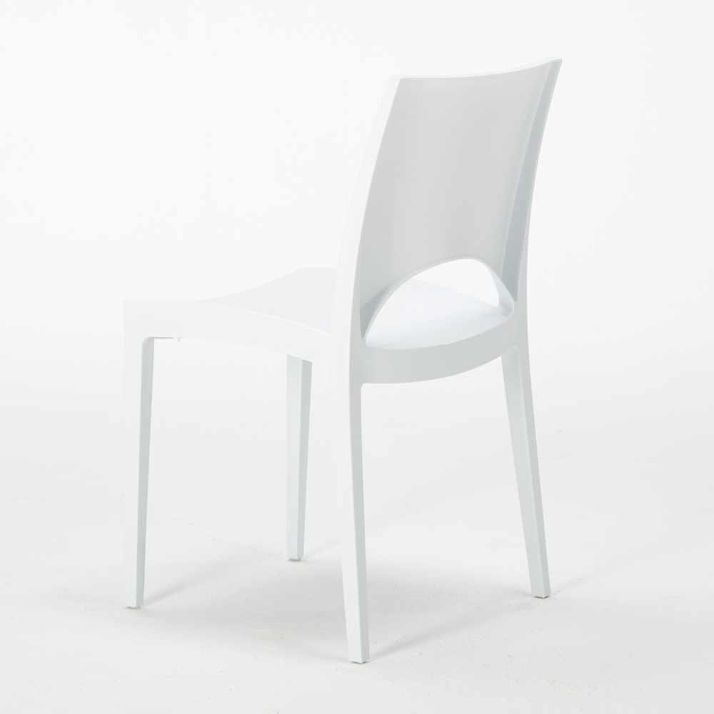 miniature 69 - Chaise en polypropylène empilable salle à manger bar Paris Grand Soleil